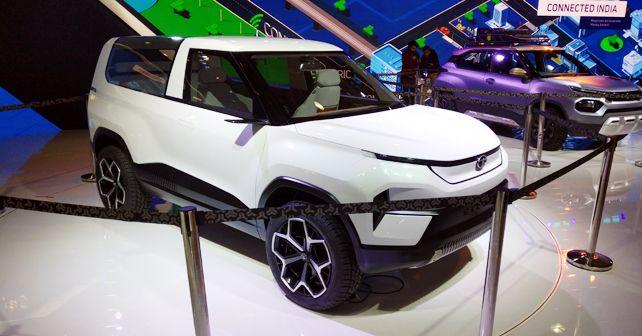 Tata Sierra EV Concept Auto Expo 2020