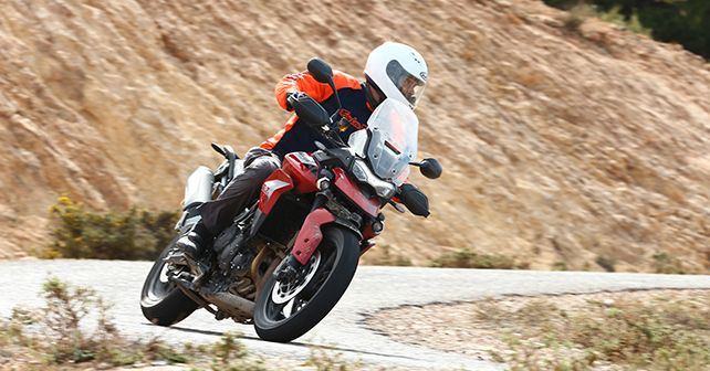 Triumph Tiger 900 GT Pro In Action