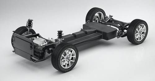 Volvo CMA Battery Electric Vehicle Technical Concept
