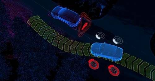 Volvo New Generation Of City Safety Steering Support