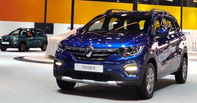 Auto Expo 2020 Renault Triber Amt Showcased