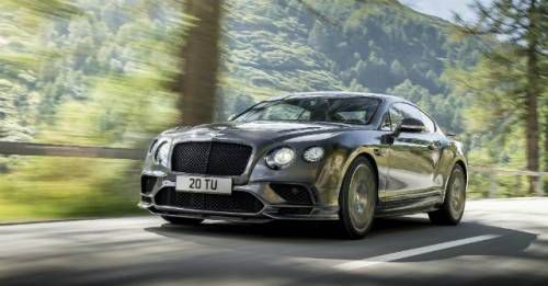 Bentley Continental Supersport Unveiled M