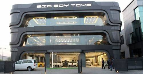 Bog Boy Toyz Showroom Gurugram M
