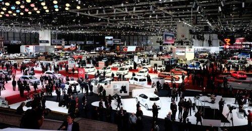Geneva Motor Show April 2014