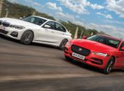 jaguar xe vs bmw 3 series