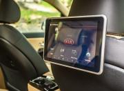 kia carnival image infotainment screen