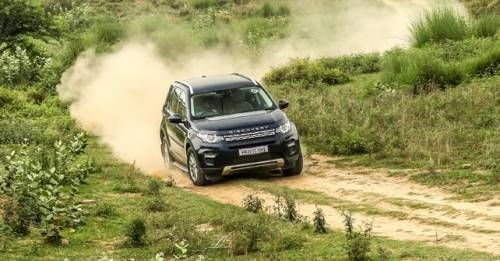 Land Rover Disocvery Sport Action