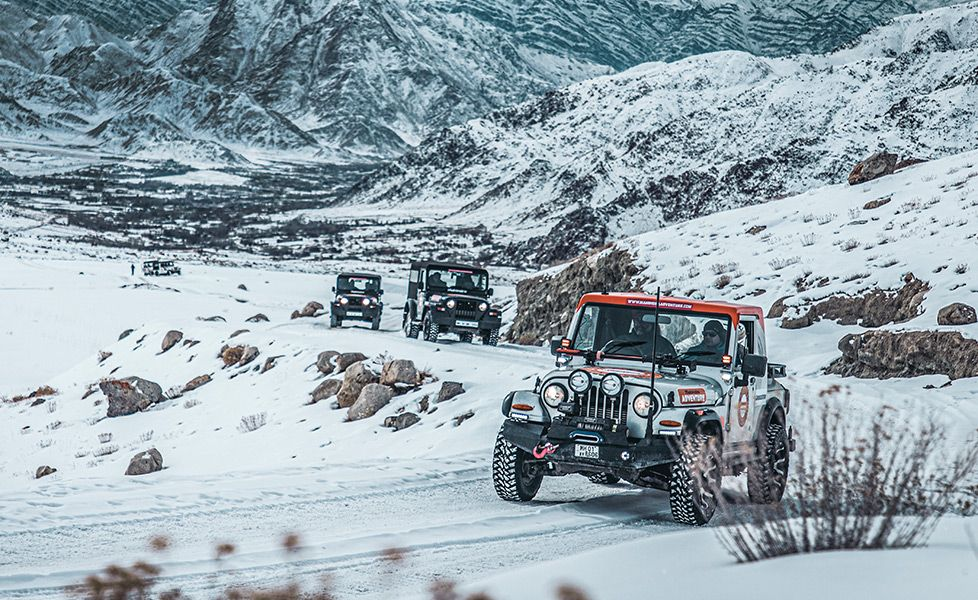 mahindra snow survivor