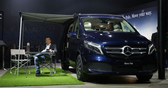 Mercedes Benz V Class Marco Polo Launched