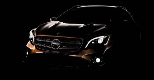Mercedes Gla Facelift Teaser M