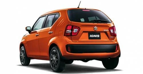New Maruti Suzuki Ignis Rear Three Quarter