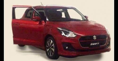 New Suzuki Swift Image Leaked