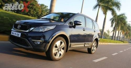 Tata Hexa Review Pictures M7