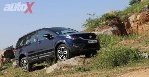 Tata Hexa Review Pictures M8