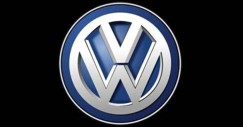 Volkswagen Logo Black
