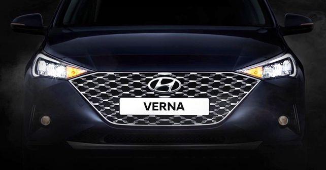 2020 Hyundai Verna BS6 Teaser Front