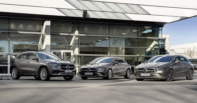 2020 Mercedes Benz CLA Coupe CLA Shooting Brake And GLA Plug In Hybrid 250e