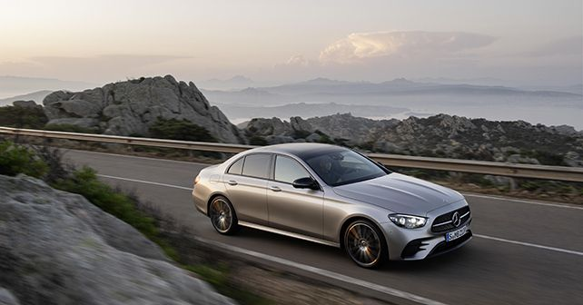 2021 Mercedes Benz E Class Facelift India Bound Revealed