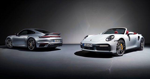 2021 Porsche 911 Turbo S Coupe Cabriolet