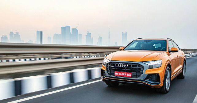 Audi Q8 India Front Action