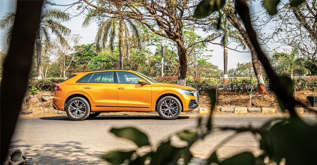 Audi Q8 Side Profile Static