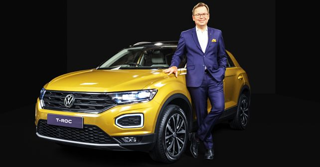 Volkswagen T-Roc launched in India