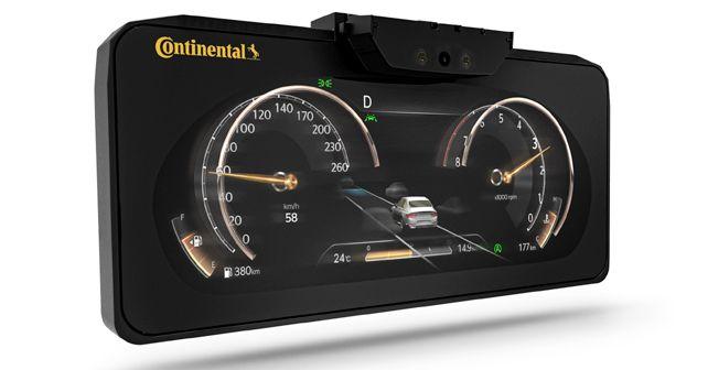 Continental 3D Digital Instrument Cluster