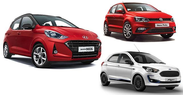 Hyundai Grand i10 Nios Turbo vs VW Polo GT TSI vs Ford Figo Diesel: Spec comparison