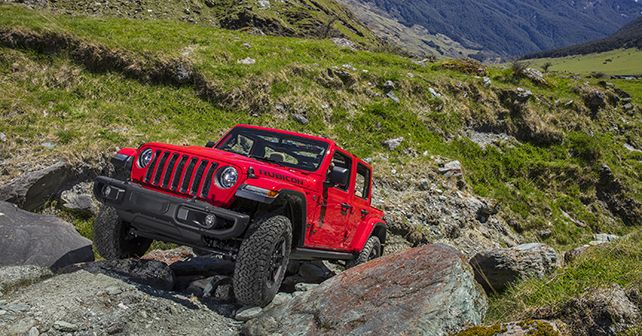 Jeep Wrangler Rubicon Launched India Off Roading