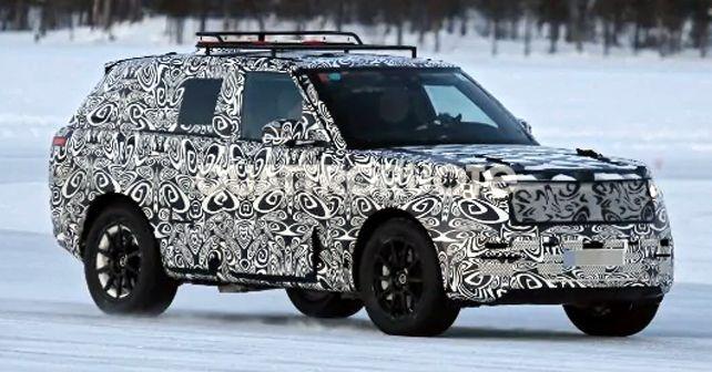 2022 Land Rover Range Rover Sport Spy Shot