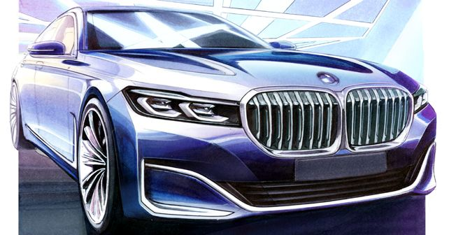 BMW 7-Series Design Sketch