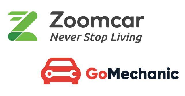 Zoomcar And GoMechanic Logos