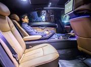 audi a8l rear seat space