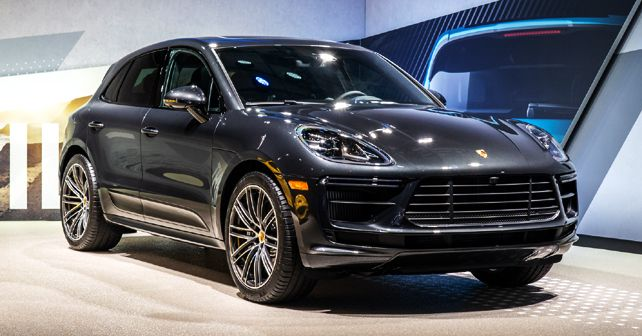 Porsche Macan Turbo at the 2019 LA Auto Show