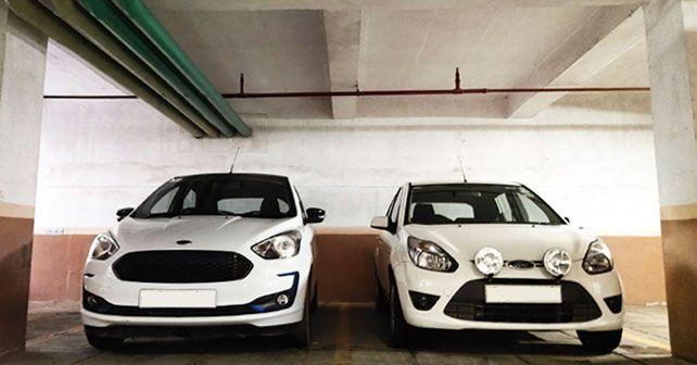 Ford Figo Parked