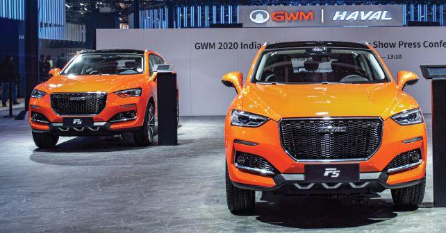Haval F5 2020 Auto Expo