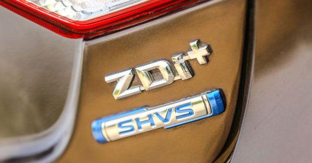 Maruti Suzuki SHVS Badge