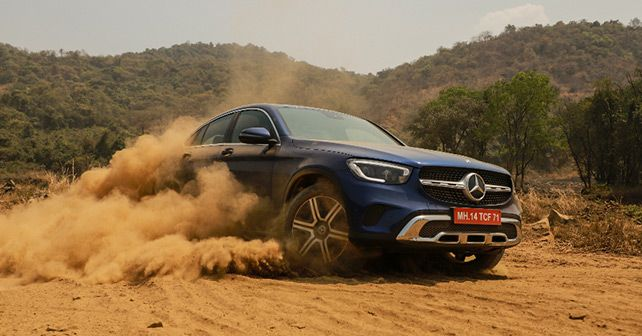 Mercedes Glc300d Action