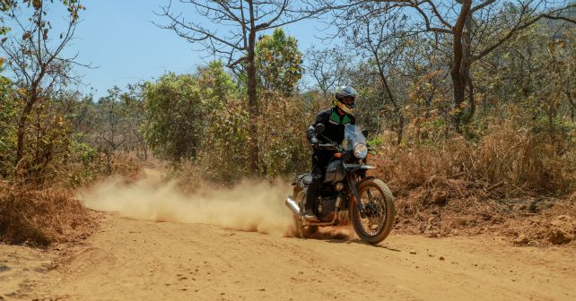 Royalenfield Himalayan Action Front