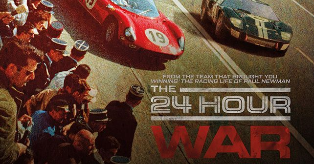 The 24 Hour War Poster M