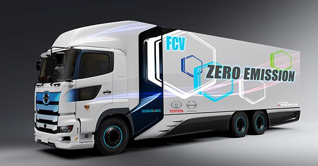 Toyota Hino Fuel Cell Truck Under Development