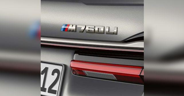 2019 BMW M760Li Badge