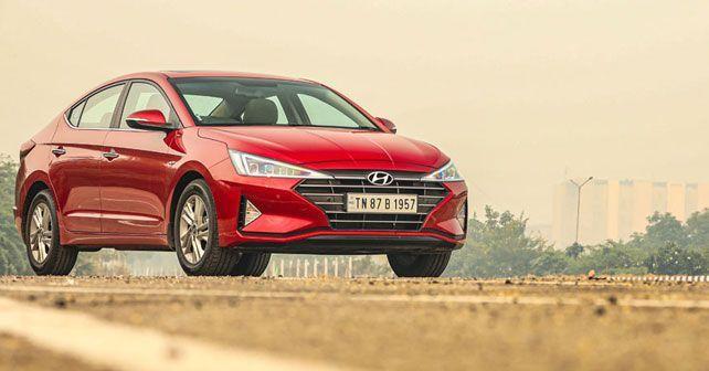 2019 Hyundai Elantra Front Three Quarter