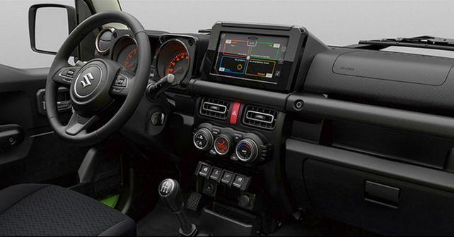 Maruti Suzuki Jimny Interior Images