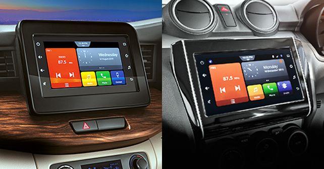 Maruti Suzuki Swift And Ertiga SmartPlay Studio Infotainment System