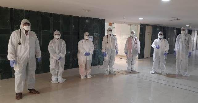 Tata PPE Medical Staff