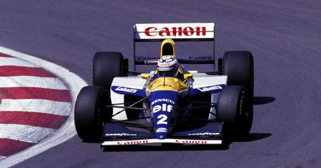 Canon Williams F1 Alain Prost