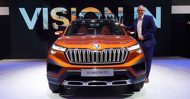 Zac Hollis Skoda Vision IN India 2021
