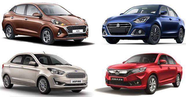 Hyundai Aura Vsmaruti Dzire Vshonda Amaze Vs Ford Aspire3