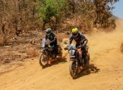 ktm390adventure royalenfieldhimalayan front action m